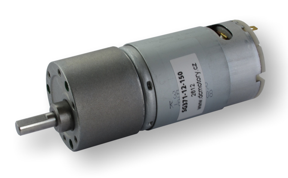 DC motor series SG371 with spur gearbox