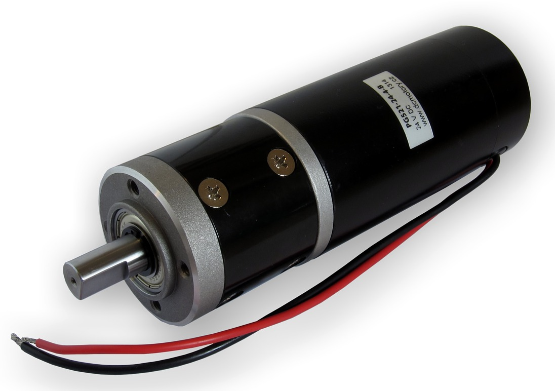 Dc motor series pg521 with planetary gearbox for Dc planetary gear motor
